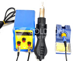 Soldron 878D Rework Station (Soldering Iron and Hot Air) : Soldron 878D Rework Station