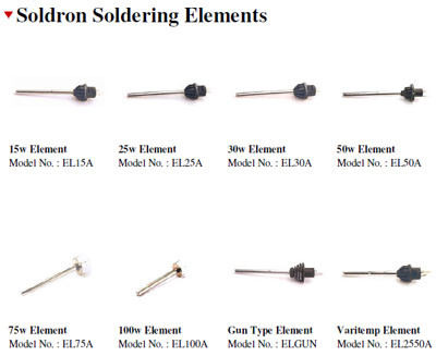 Soldron Soldering Element / Heating Elements