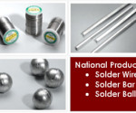 National Products Lead-Free Solder Wire / Bar / Ball : National Products Solder