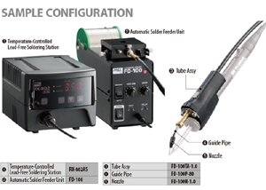 Automatic Solder Wire Feeder – Goot FD-100 : Goot FD-100 Automatic Solder Wire Feeder