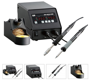 Dual Port ESD-Safe Digital Temperature Controlled Soldering Station – Goot RX-822AS : Goot RX-822AS Soldering Station