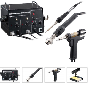 Soldering Desoldering Combined Machine for PTH and SMD – Goot SVS-800AS