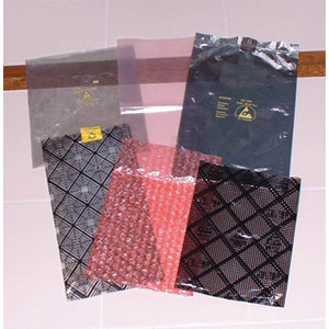 Static Shielding Bag / ESD Pink Poly Bags