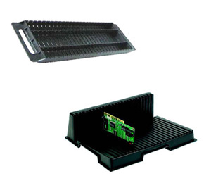 PCB Rack / PCB Holder (Conductive ESD Safe)